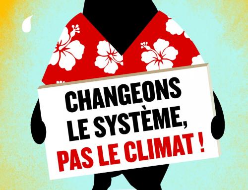 Le 14 mars : Marche pour le climat à Strasbourg à 14 heures  pl. de la République