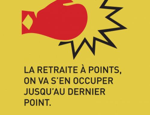 La retraite par points, on en veut toujours point! Grèves et manifestations les 12, 14 et 17 décembre!