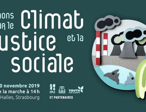 Marche pour le climat et la justice sociale le 30 novembre à Strasbourg