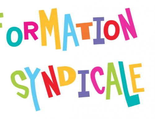 Stage de formation syndicale, mes droits, les démarches à faire pour y participer, 2021-09-16